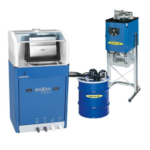 Drester Dynamic Triple gun cleaner and solvent recycler system