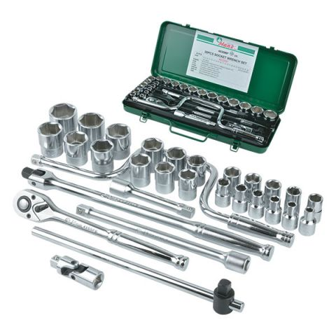 "Hans RA4630MP 30pc 1/2"" drive metric socket set"