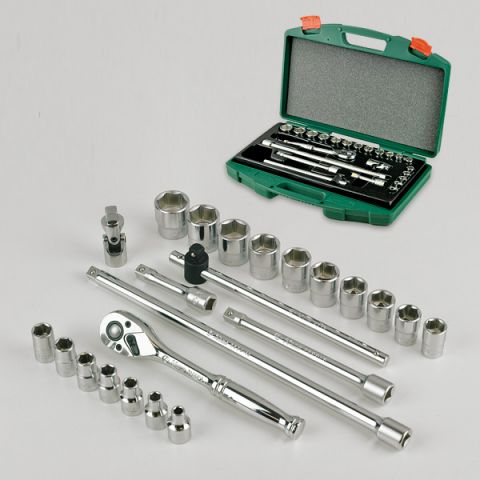 "Hans RATTK-15 23pc 3/8"" drive metric socket set"
