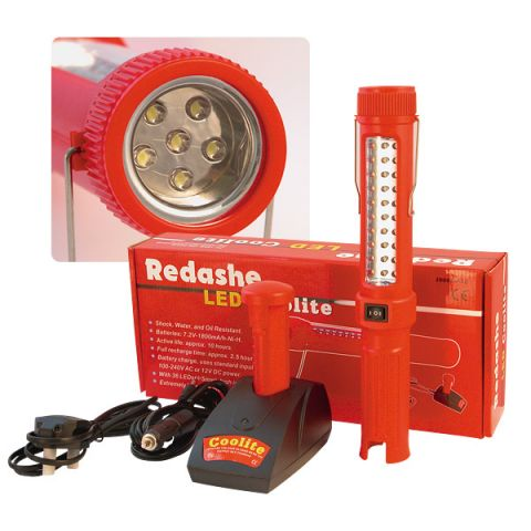 Redashe J000L8-30 rechargeable LED lead light
