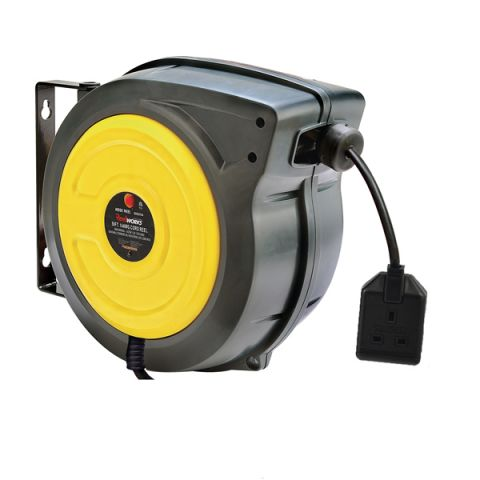 Reelworks C2681 spring rewind cable reel