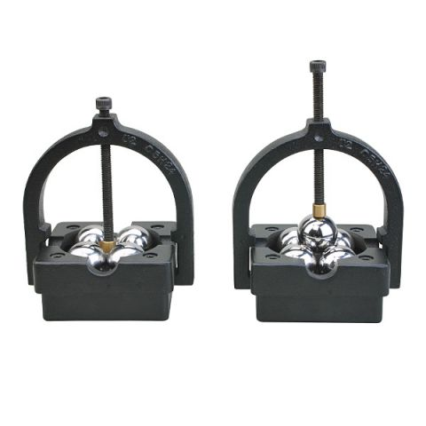 Groz ZVBBB112 ball bearing vee block and clamp set
