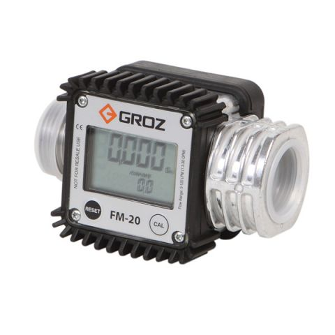 Groz ZFM20 digital turbine flow meter