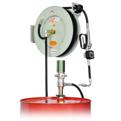 Lubeworks C808-OKMD wall mount oil dispensing system