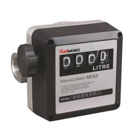 Lubeworks J1581400 mechanical fuel meter
