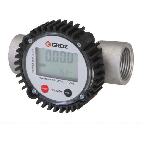 Groz ZFM2000 digital turbine flow meter