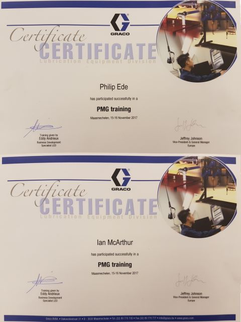 GRACO Training Passed With Flying Colours