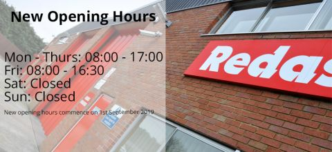 New Redashe Opening Hours
