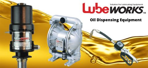Lubeworks oil dispensing equipment