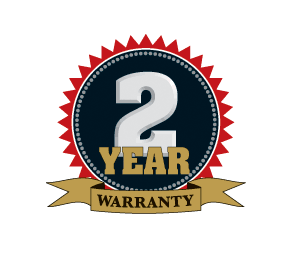 2 Year Warranty Logo