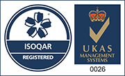 ISOQAR Quality Assured Logo