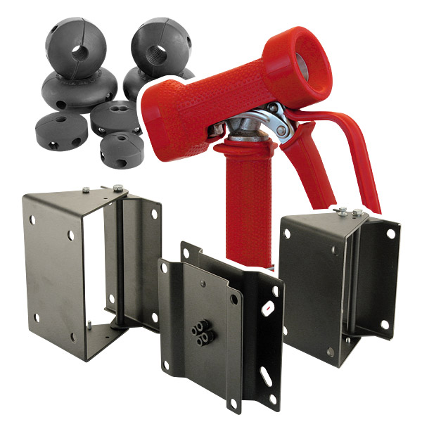 Hose reel accessories