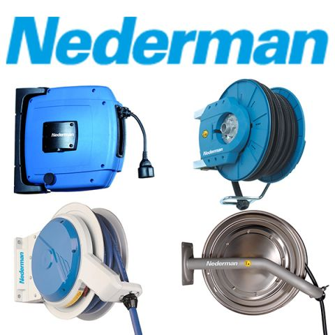 Introducing A New Range Of Hose & Cable Reels By Nederman