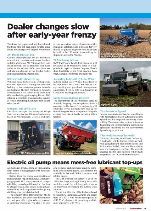 Read All About The BOP20 In The Current Edition Of Farmers Weekly
